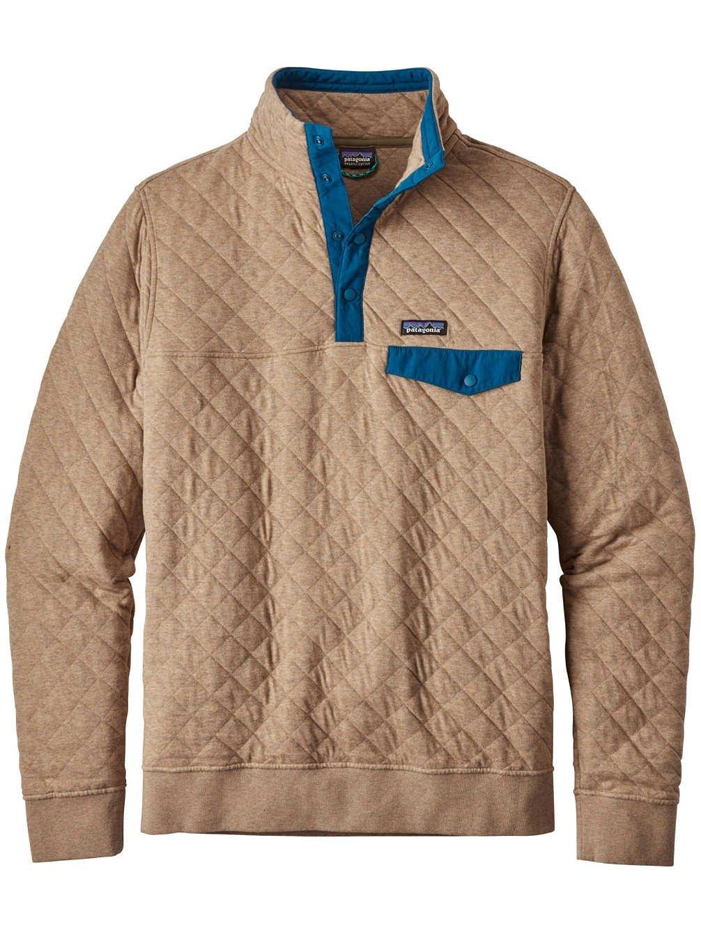 patagonia(パタゴニア) メンズコットンキルトスナップTプルオーバー Ms Cotton Quilt Snap-T P/O 25371 B073RNQCBG X-Large|Mojave Khaki Mojave Khaki X-Large