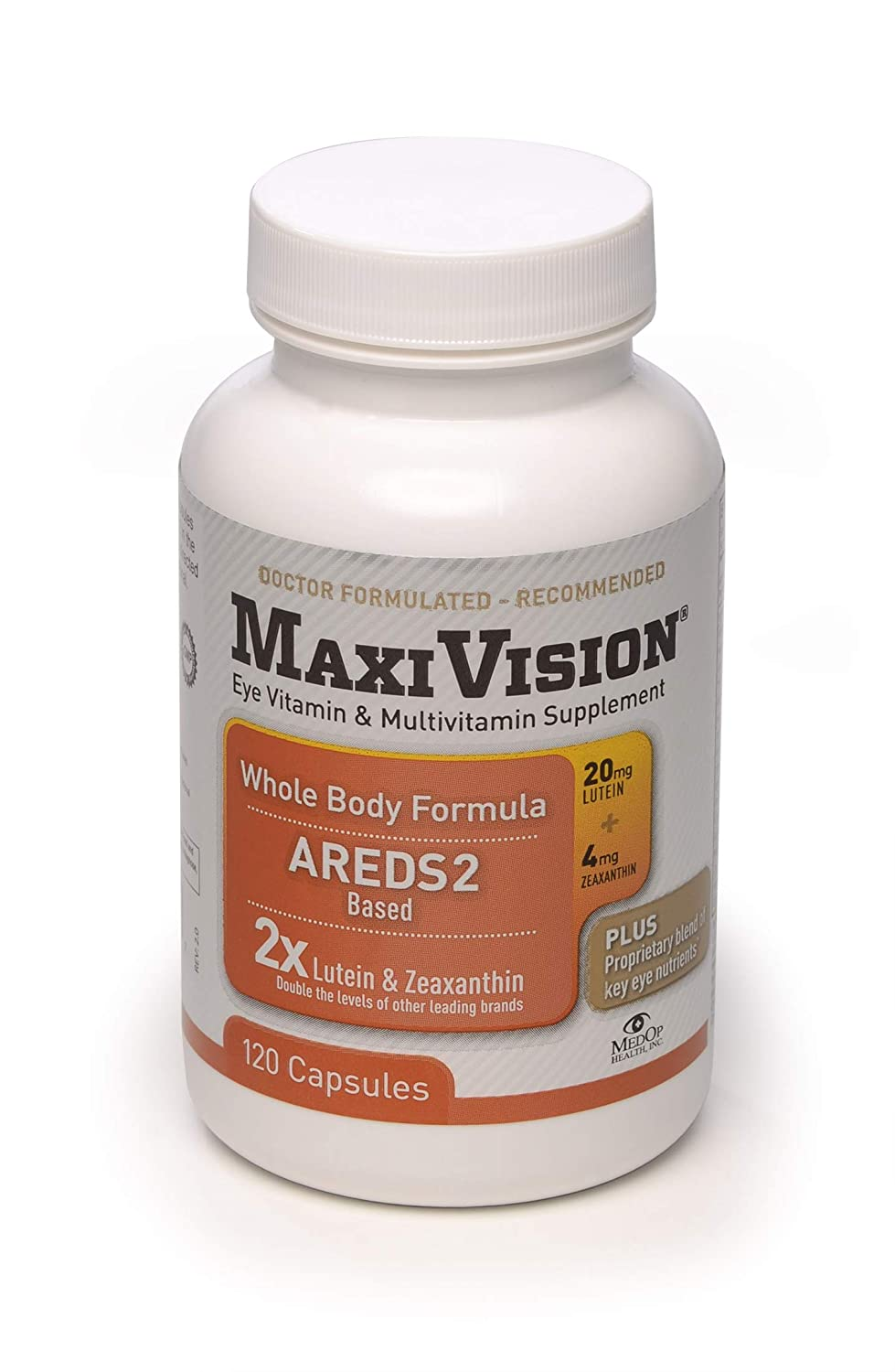 MedOp MaxiVision Whole Body Formula – 120 Capsules