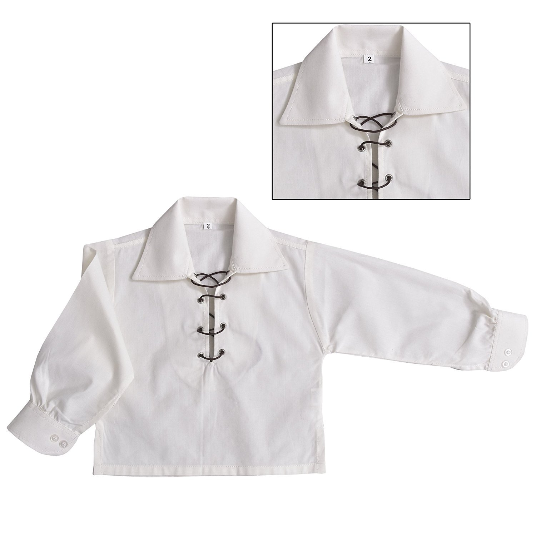 Children's Deluxe Ghillie Shirt Kids Boys Ghillie Shirt - Cream