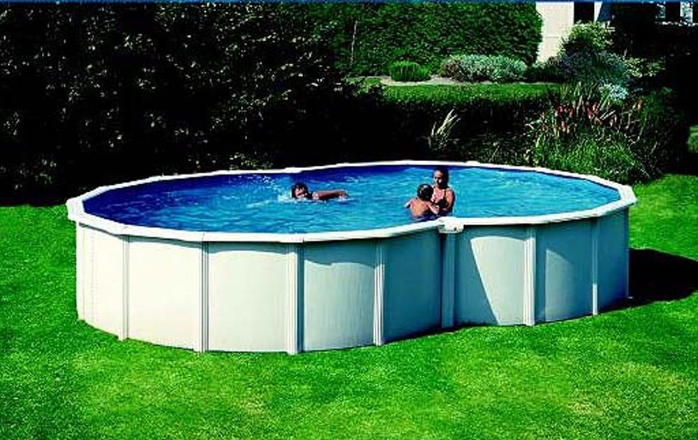 GRE kitpro v7070 Dream Pool Varadero Acero Pared Pool 7, 10 x 4, 75 x 1, 20 m: Amazon.es: Jardín