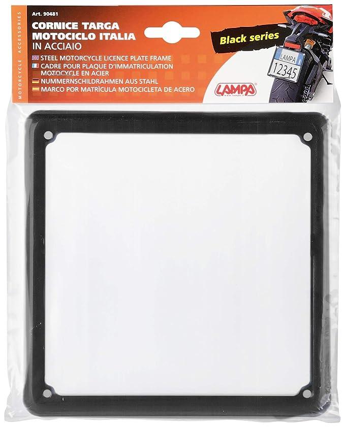 Placa de Soporte de Movimiento Universal de Aluminio Ajustable Lampa Color Negro