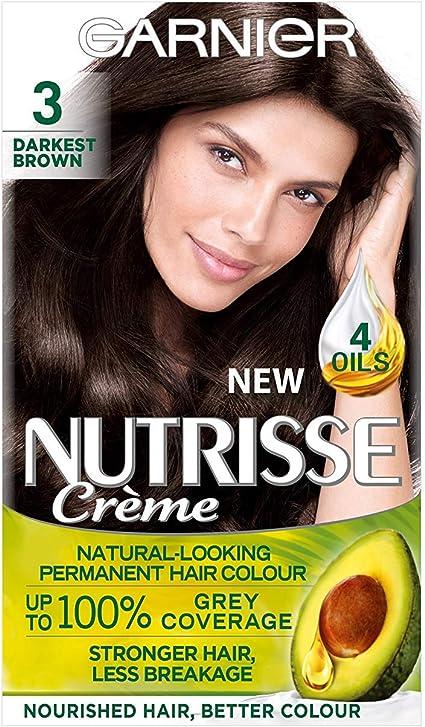 Garnier Nutrisse 3 - Tinte para el cabello permanente ...