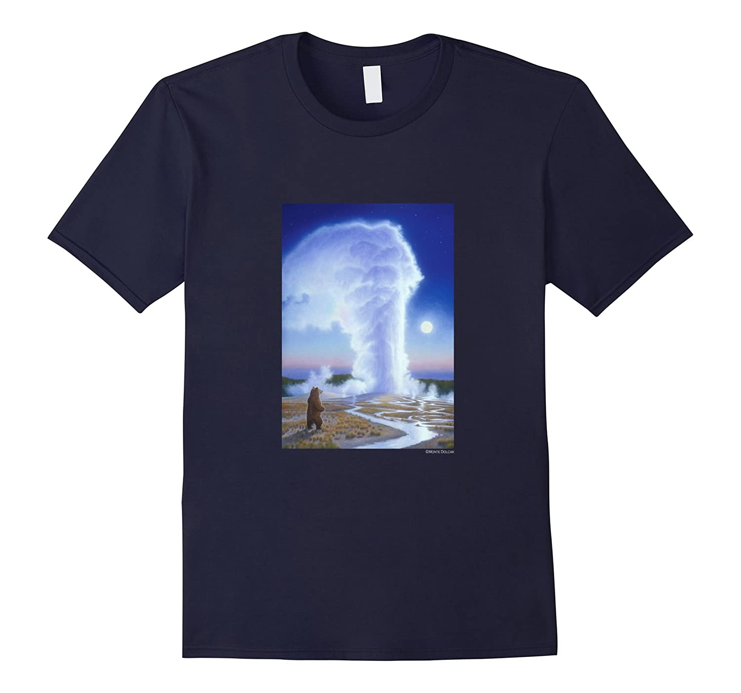 Monte Dolack Yellowstone National Park Bearing Witness T-shi-Art