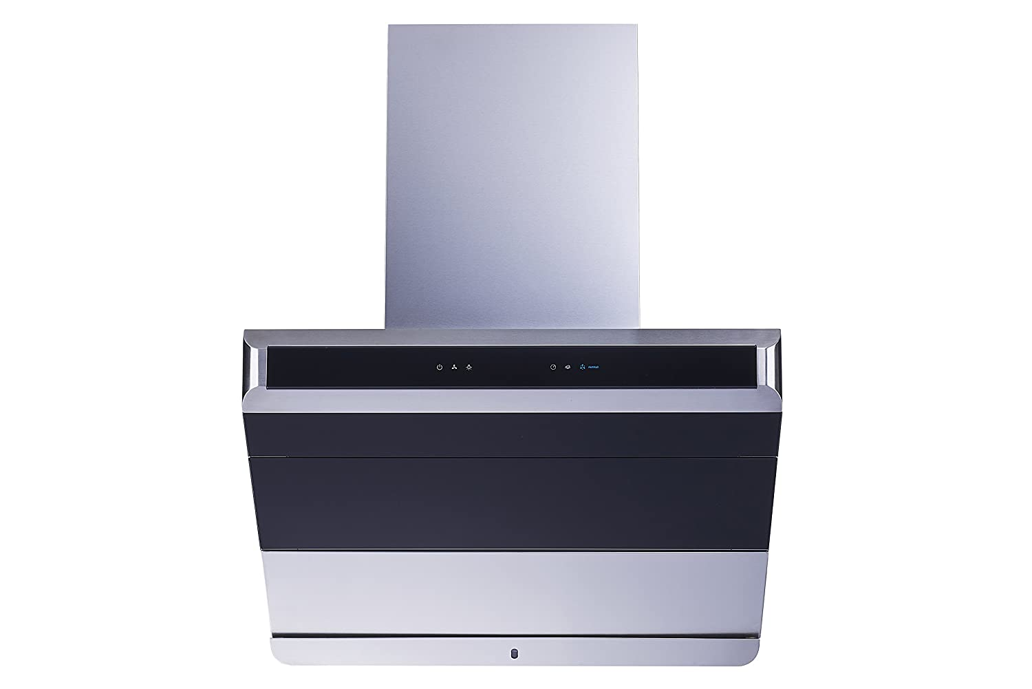"""30"""" 900 CFM Ducted Stainless Steel and Glass Wall mount Range Hood with Automated fan shield, Baffle Filter, Touch Control and Self Clean"""