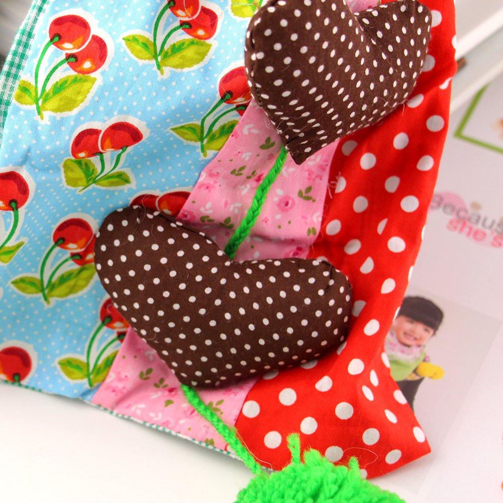 X Shop Pretty Girls Fashion Lovely Heart Cotton Scarf