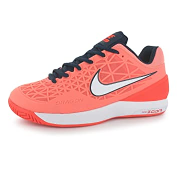 f01ba6f5 Nike Zoom Cage 2 - Zapatillas de tenis para mujer, color rosa/azul marino  corte entrenadores zapatillas, rosa y azul marino: Amazon.es: Deportes y  aire ...