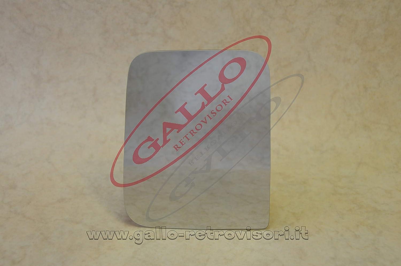 Specchio Retrovisore specchietto esterno - Destro, Curvo, Cromato Gallo Retrovisori SNC
