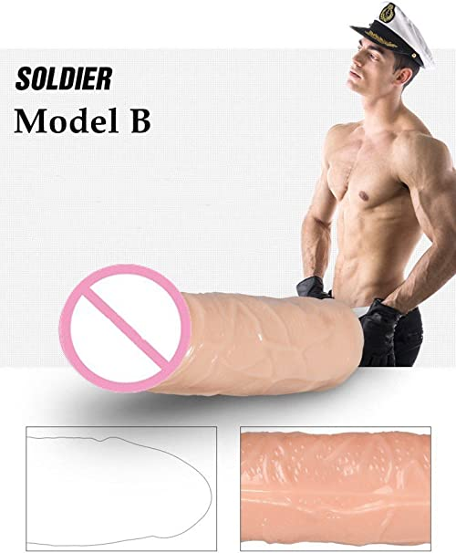 Amazon Com Model B Realistic Skin Penis Sleeves Penis Extender