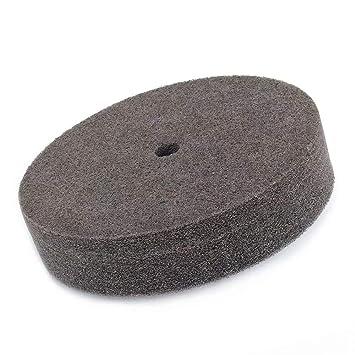 cer/ámica y m/ármol de 50 mm de grosor Rueda de molienda de fibra de nailon con almohadilla de disco de pulido abrasivo de 5//8 pulgadas para acero inoxidable muebles