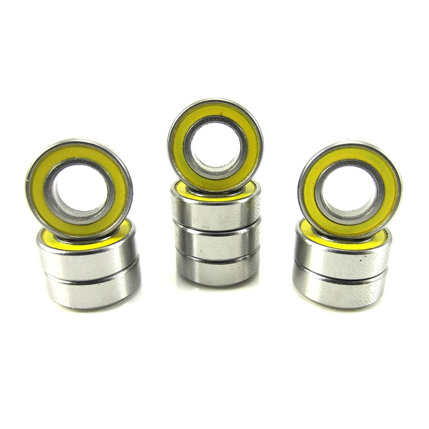 Traxxas 5117 6x12x4mm Replacement Precision Ball Bearings MR126-2RSYE (10)