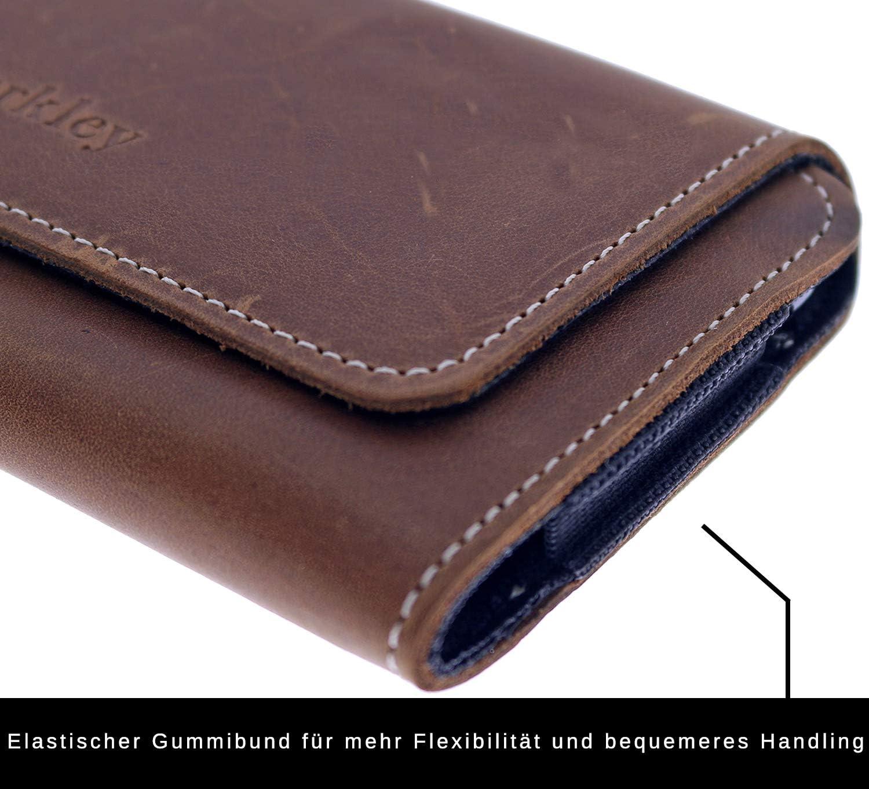Handyh/ülle Holster Schutzh/ülle geeignet f/ür Galaxy S20 Plus H/ülle mit G/ürtel-Schlaufe Kaffee Braun Burkley G/ürteltasche f/ür Samsung Galaxy S20