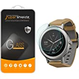 [2-Pack] Supershieldz for LG Watch Style Tempered Glass Screen Protector, (Full Screen Coverage) Anti-Scratch, Bubble Free, Lifetime Replacement Warranty
