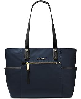 91e95c005e9c10 Michael Kors Kelsey Nylon Large Zip Tote in Admiral: Handbags ...