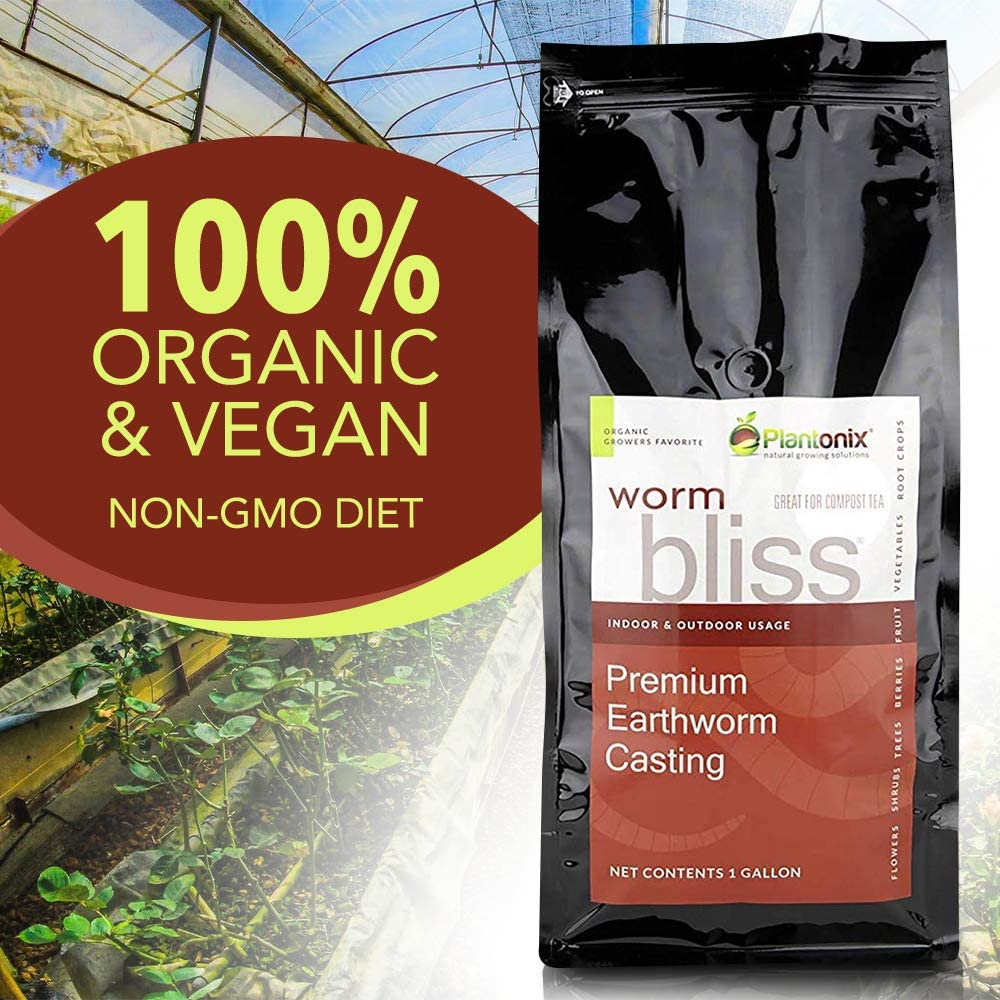 Worm Bliss Premium Vegan & Organic Earthworm Castings