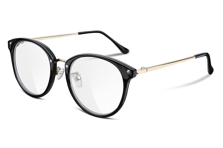 FEISEDY Clear Lens Glasses Frame Cozy Composite Frame Eyewear Women Men B2260 UB2260-007-FF