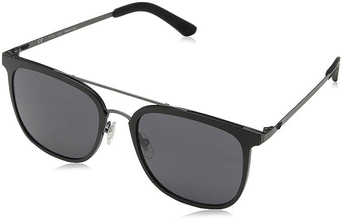 Police Edge 6, Gafas de Sol para Hombre, Gris (Matt Gunmetal), 54: Amazon.es: Ropa y accesorios