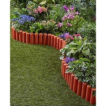 TRM Flexible Garden Edging Border Fence Set 7FT