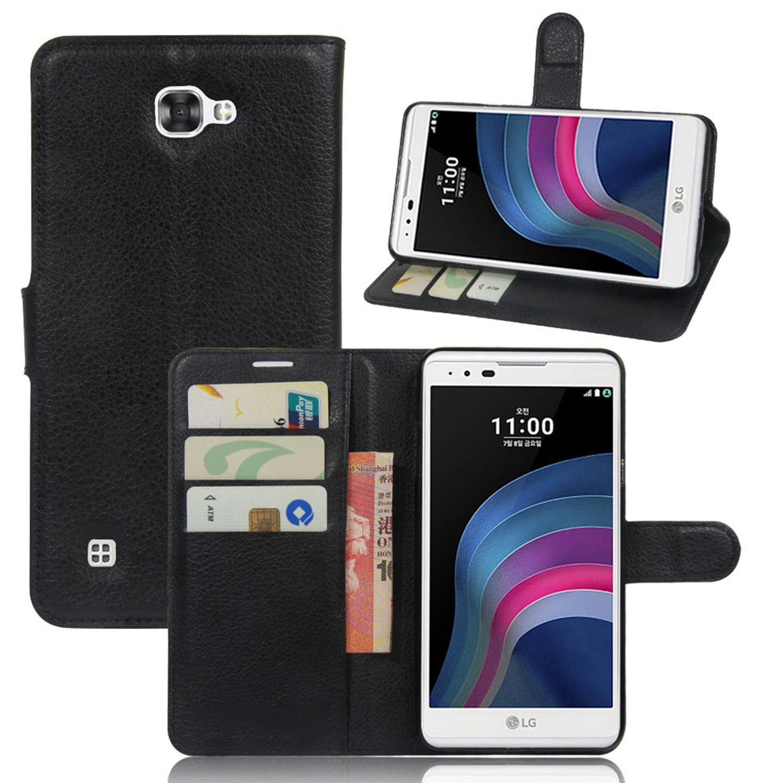 Guran® Funda de Cuero PU Para LG X MAX / LG X5 Smartphone Función ...