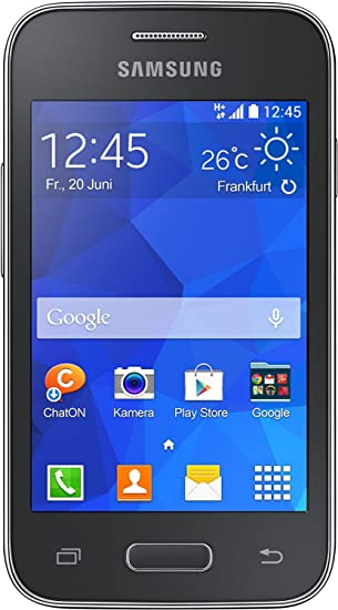Amazon com: Samsung - G130 Galaxy Young 2,4 GB, Black: Cell Phones