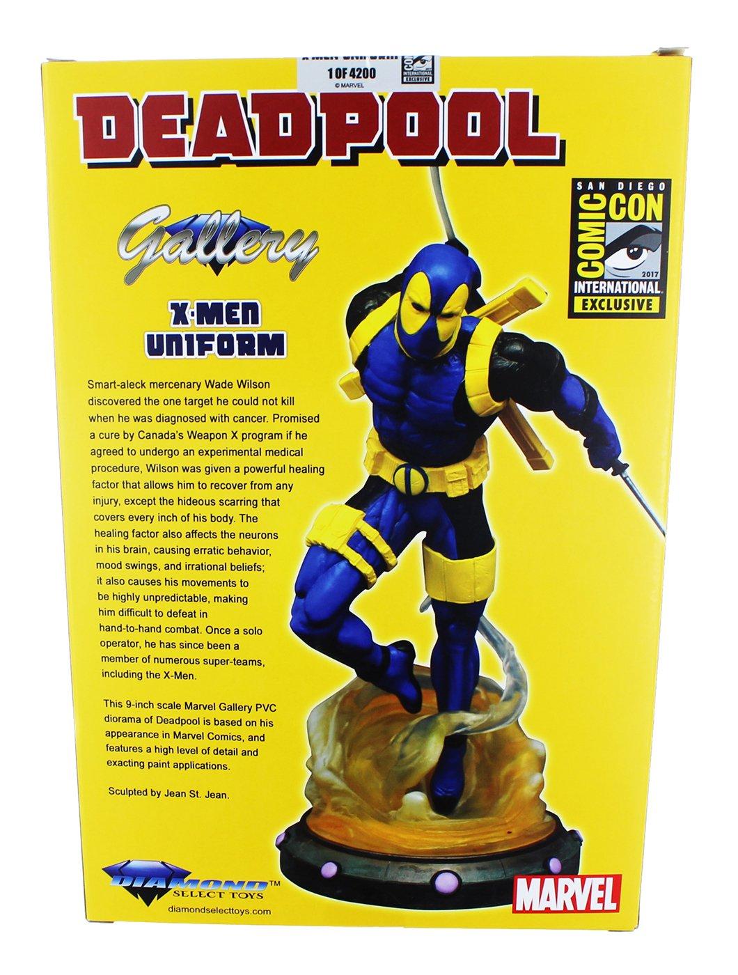 SDCC 2017 Exclusive PVC Figure Marvel Gallery 10 Deadpool X-Men Variant Diamond