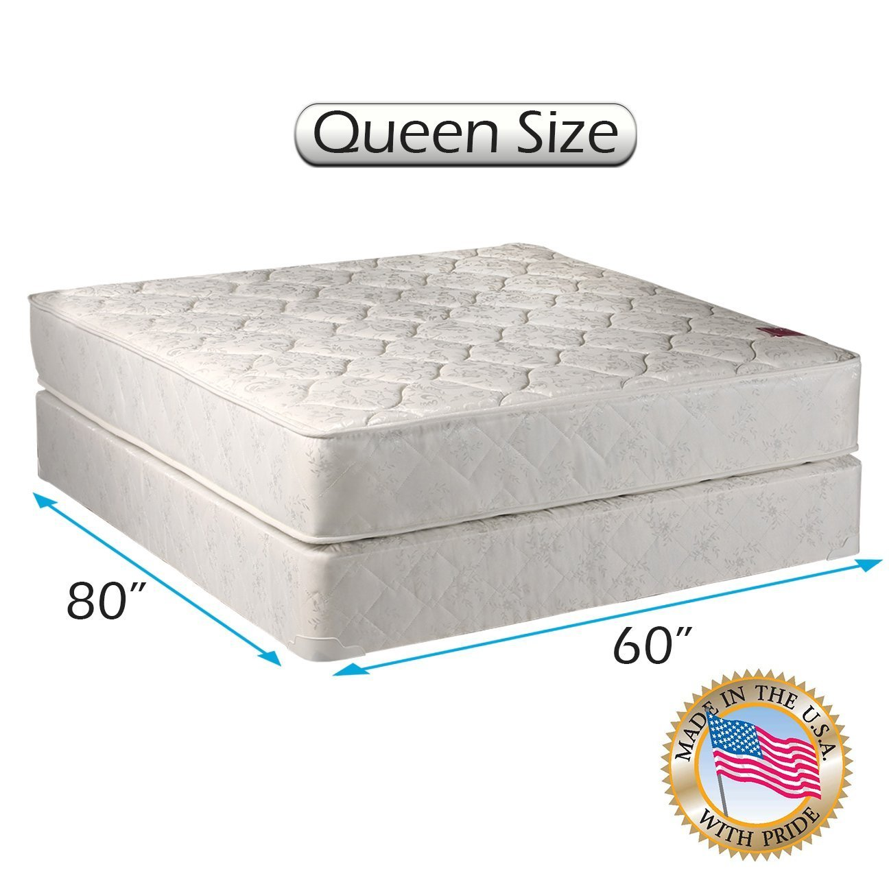 Amazon.com: Legacy Queen Size Mattress and Box Spring Set: Kitchen & Dining