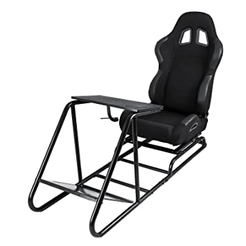 Super Forkwin Racing Simulator Gaming Chair With Gear Shifter Theyellowbook Wood Chair Design Ideas Theyellowbookinfo