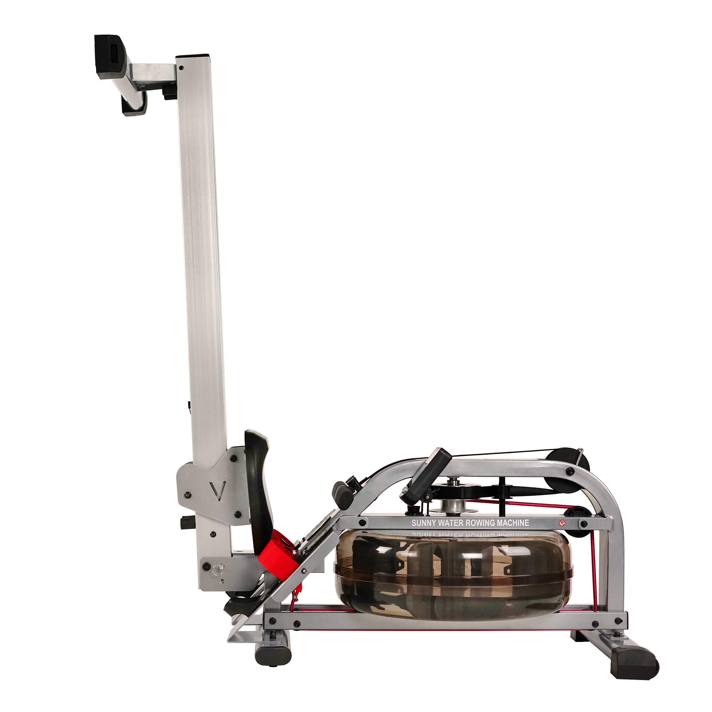 Sunny Health & Fitness Water Rowing Machine Rower w/LCD Monitor - SF-RW5866 by Sunny Health & Fitness (Image #10)