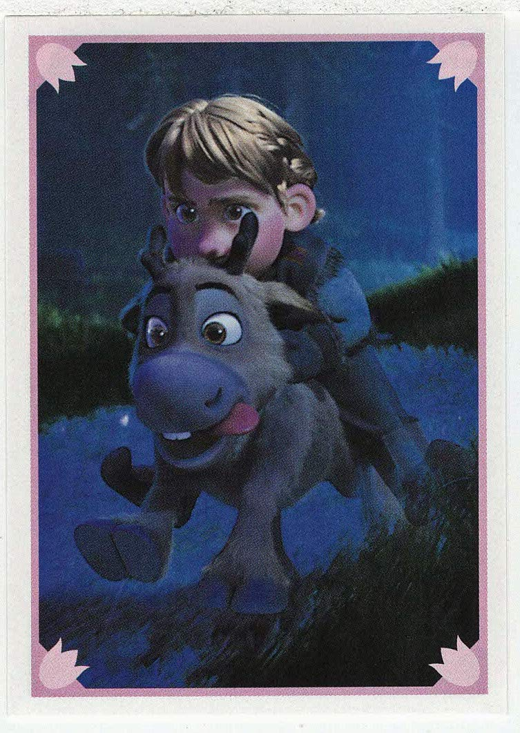 Frozen - Enchanted Moments (Trading Card/Sticker) # 60 (Base) Panini 2014