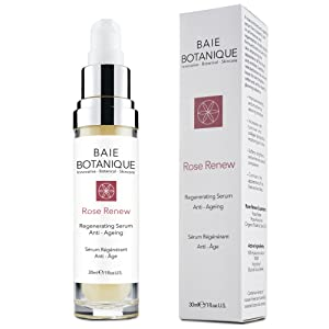 Best Anti Ageing Face Serum - 15% Botanical Hyaluronic Acid - Plumps, Hydrates & Smooths - Rosewater, Rose Absolute, Rosehip Seed Oil, Glycolic Acid - 2 in 1 Serum & Toner. 98% Natural, 80% Organic
