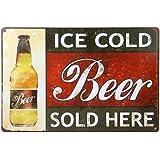 20x30cm Placa Chapa Cartel Póster de Pared Metal Arte Decoración para Bar de Cerveza Cafetería # 8