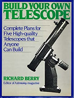 the dobsonian telescope a practical manual for building large