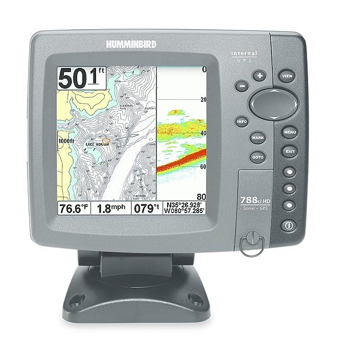 Amazon com: Humminbird 788ci HD Combo Fishfinder and GPS