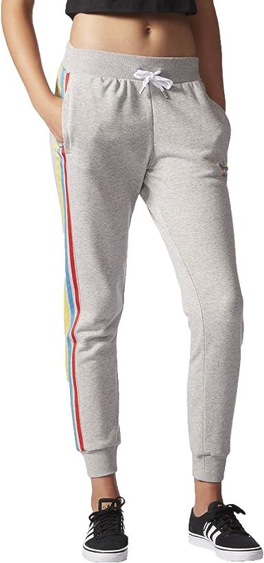adidas – Pantalón de chándal para Mujer, Corte Regular con puños ...
