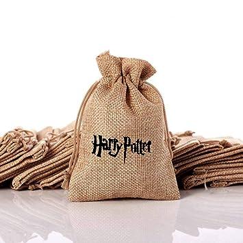 OMzgxGOD - 10pcs Harry Potter Saco de Regalo ,Yute Bolsas de ...