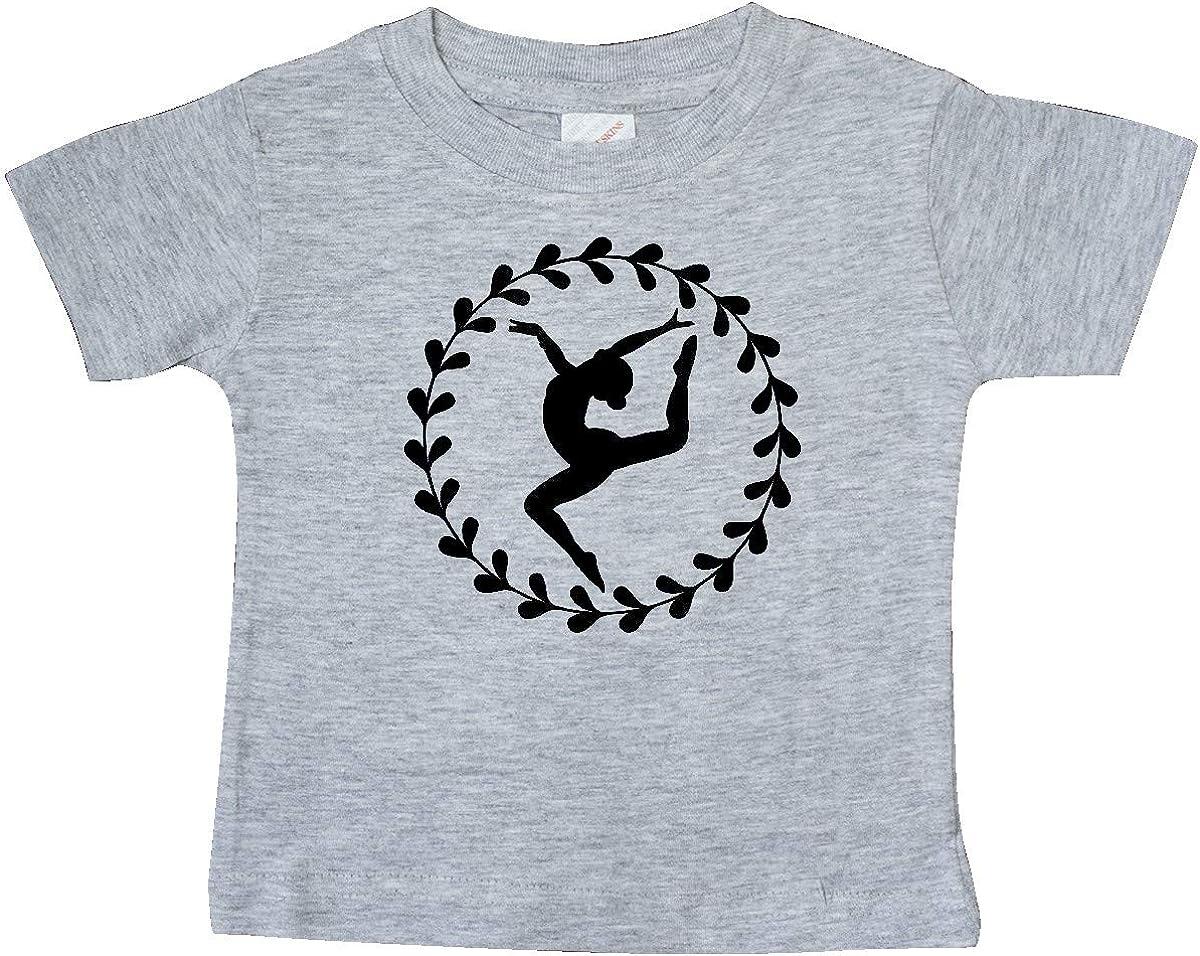 inktastic Dance Silhouette Ballerina Baby T-Shirt
