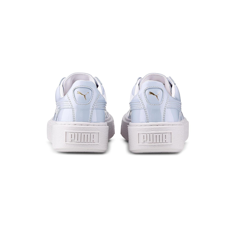 Puma Basket Platform Patent - 363314-01  Amazon.fr  Chaussures et Sacs a6609d700