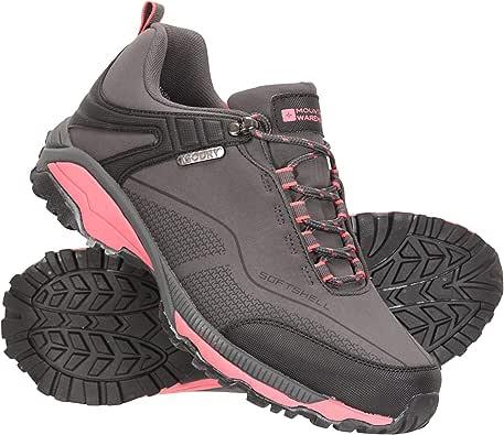 Mountain Warehouse Zapatillas Impermeables Collie para Mujer - Calzado liviano para Damas, Zapatos Transpirables, Zapatos Suaves para Caminar: Amazon.es: Zapatos y complementos