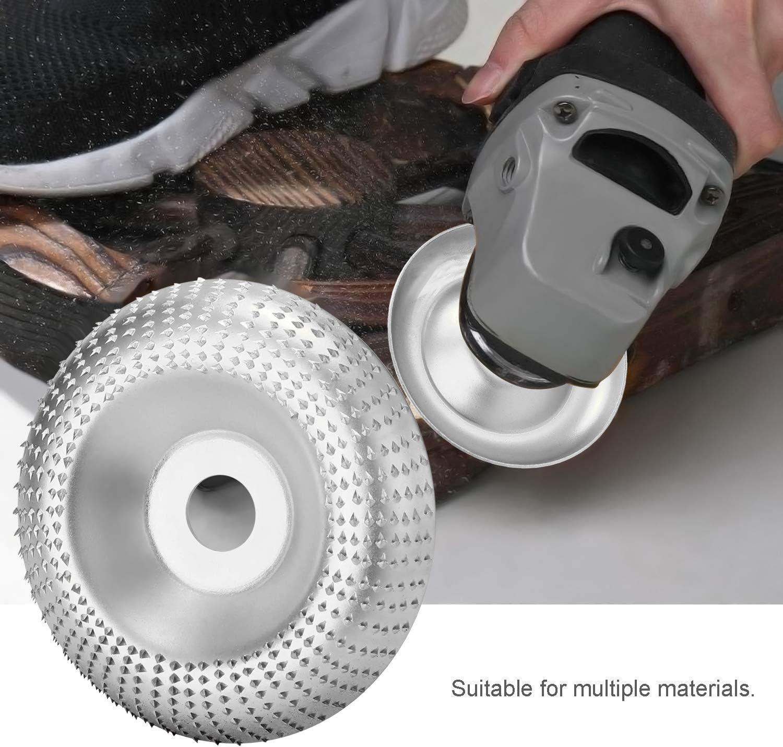 Tungst/èn Disque/de/Polissage,Outil de Sculpture de Meule en Bois pour La Meuleuse Dangle 3,3 pouces //85mm 3,9 pouces//100mm