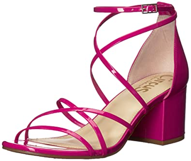 d3a1cd23bd11 Circus by Sam Edelman Women s Sheila Heeled Sandal hot Pink Patent 5 ...