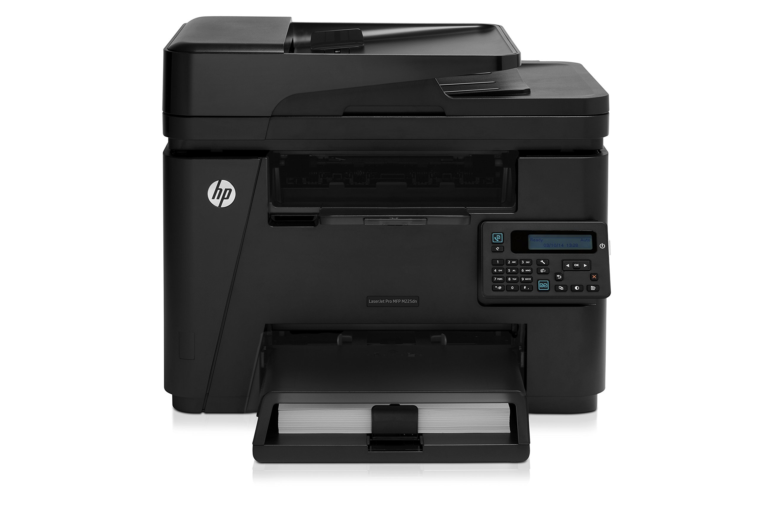 HP LaserJet Pro M225dn Monochrome Printer with Scanner, Copier and Fax, (CF484A) by HP