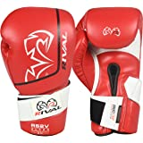 RIVAL Boxing RS2V 2.0 Super Pro Hook and Loop Sparring Gloves - 14 oz. - Red