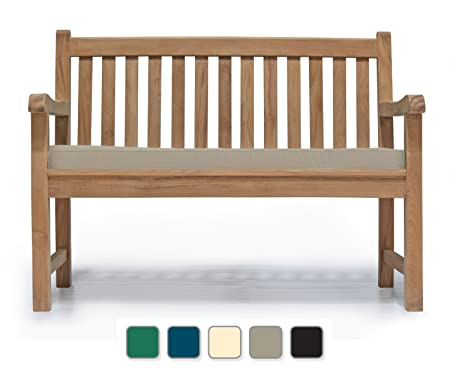 Fine Jati York Garden Bench A Grade Teak 1 2M 4Ft Fully Assembled Outdoor Bench Brand Quality Value Taupe Cjindustries Chair Design For Home Cjindustriesco