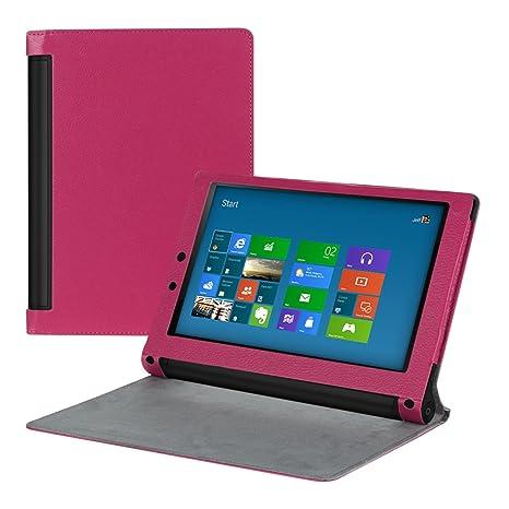 SlimKunstLederTab1 Rosa rosa Lenovo Yoga Tablet 2 10 (1050 ...