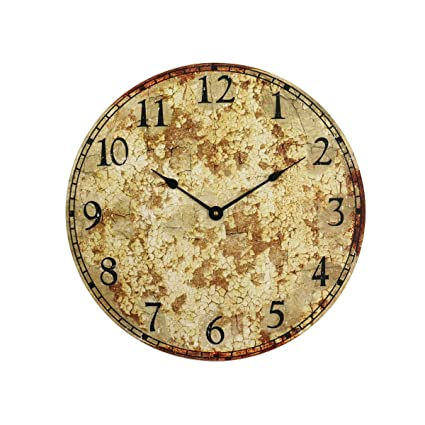 Amazon.com: Vintage Rustic Antique Clock Working Clock Rustic Home ...