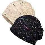 LEVAO Beanie Chemo Hat for Women Scarf Head Turban Headwear Head Wraps Sleep Caps for Cancer