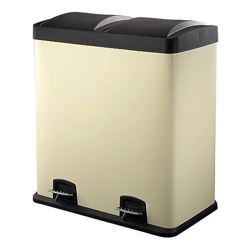 Harima   60 Liter (2 Kammern, 2 Größen) Mülleimer Treteimer Abfalleimer Für  Recycling Design Ideas