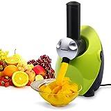 Excelvan Automatic Frozen Fruit Ice Cream, Yogurt and Dessert Maker Blender, Green