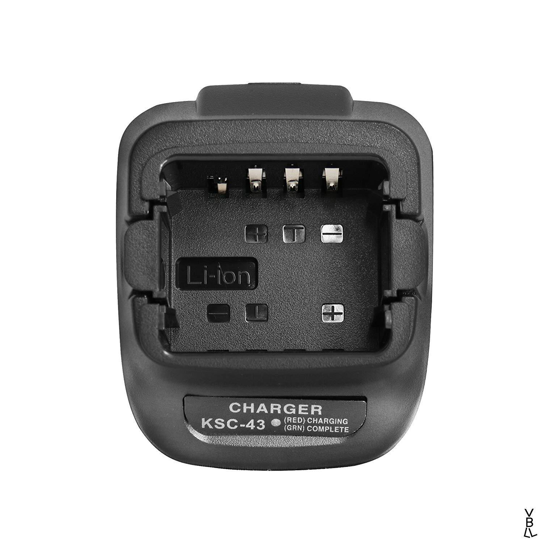 BLVL Rapid Charger KSC-43 Rapid Charger Base Without Power Supply for Kenwood TK3402 TK3400 TK3300 TK3000 TK2402 TK2400 TK2302 TK2300 Portable Radio