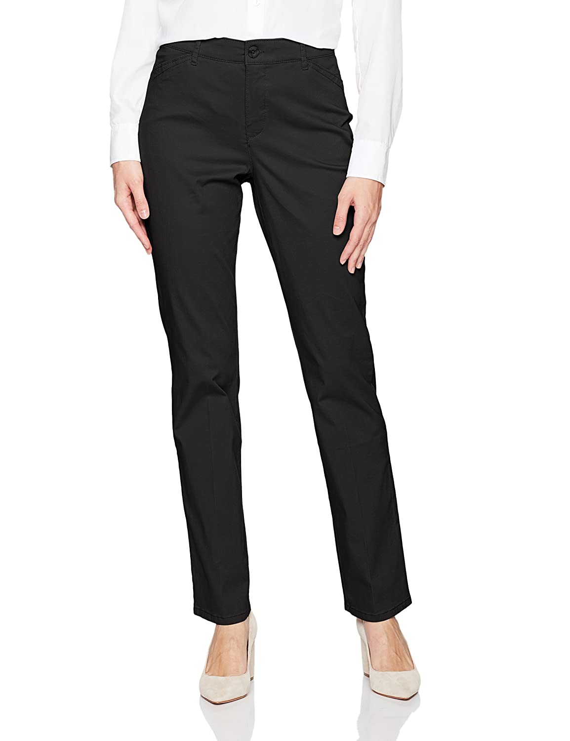 5561e143f6152 GLORIA VANDERBILT Women s Anita Straight Leg Pant at Amazon Women s Clothing  store
