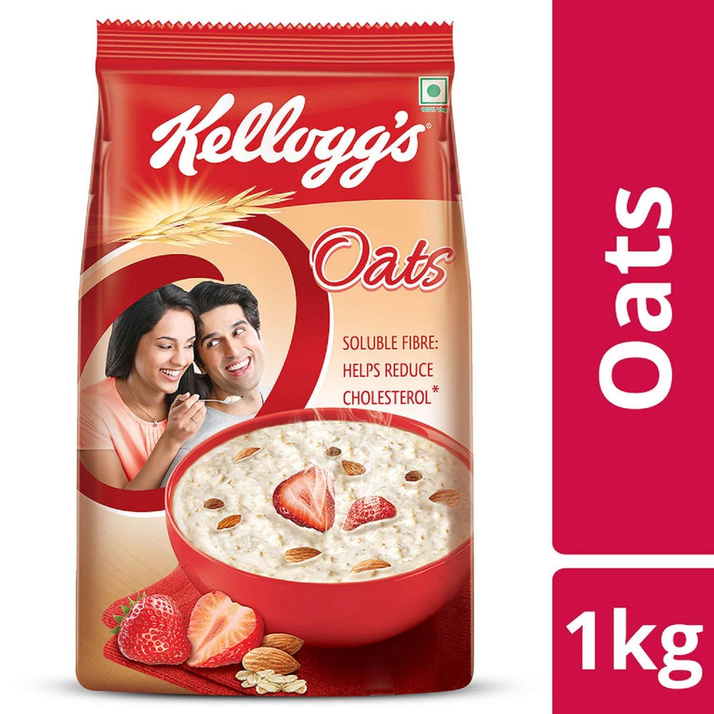Loot Fast Kellogg's Oats, 1kg at 99 MRP 185